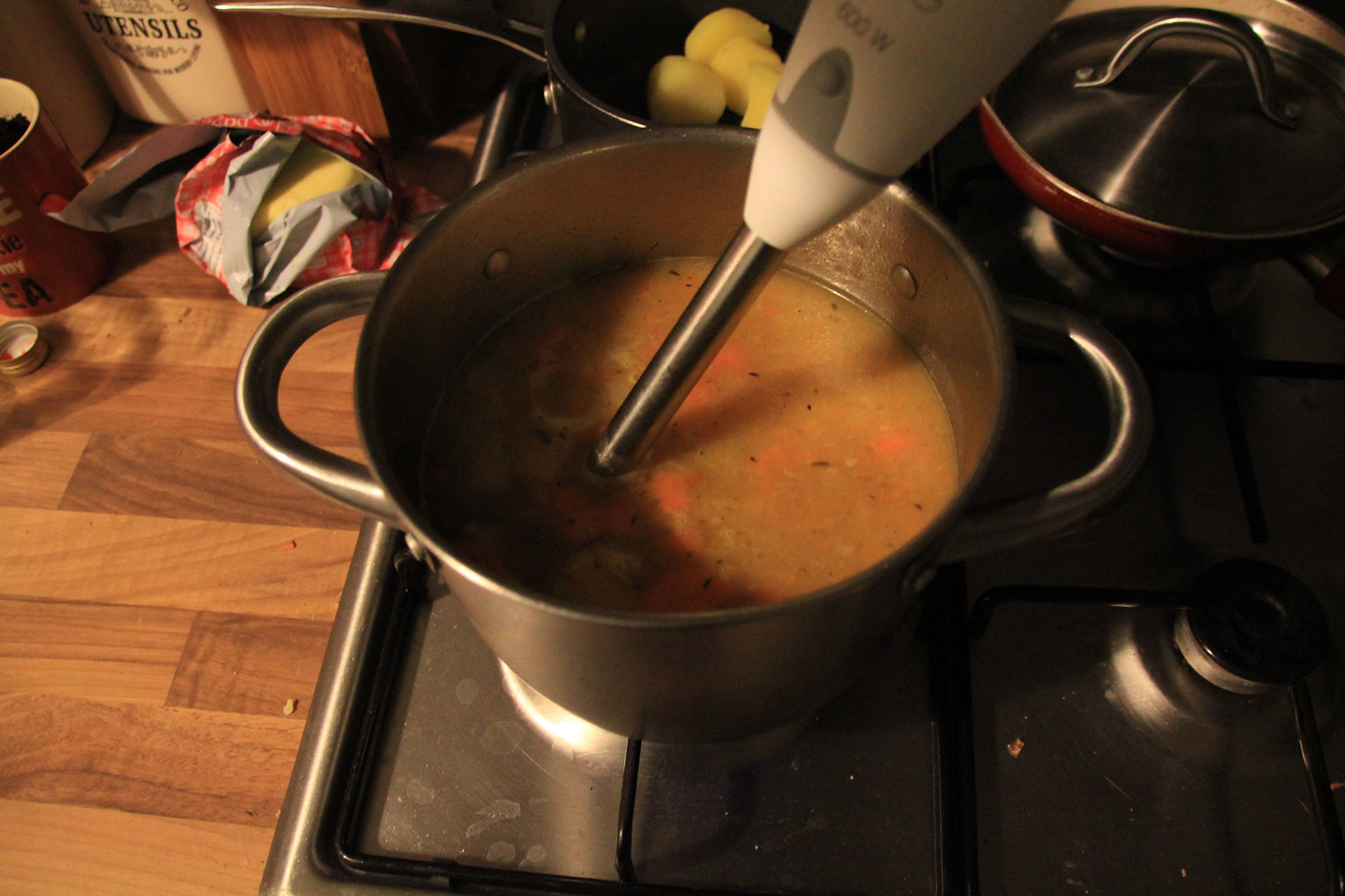 Blend your soup