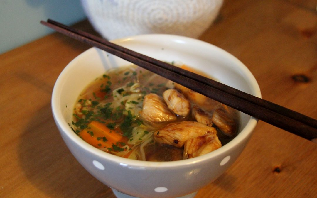 Jimmy's Chilli Chicken Ramen Noodle Soup