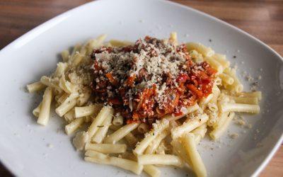 Sausagebol Pasta