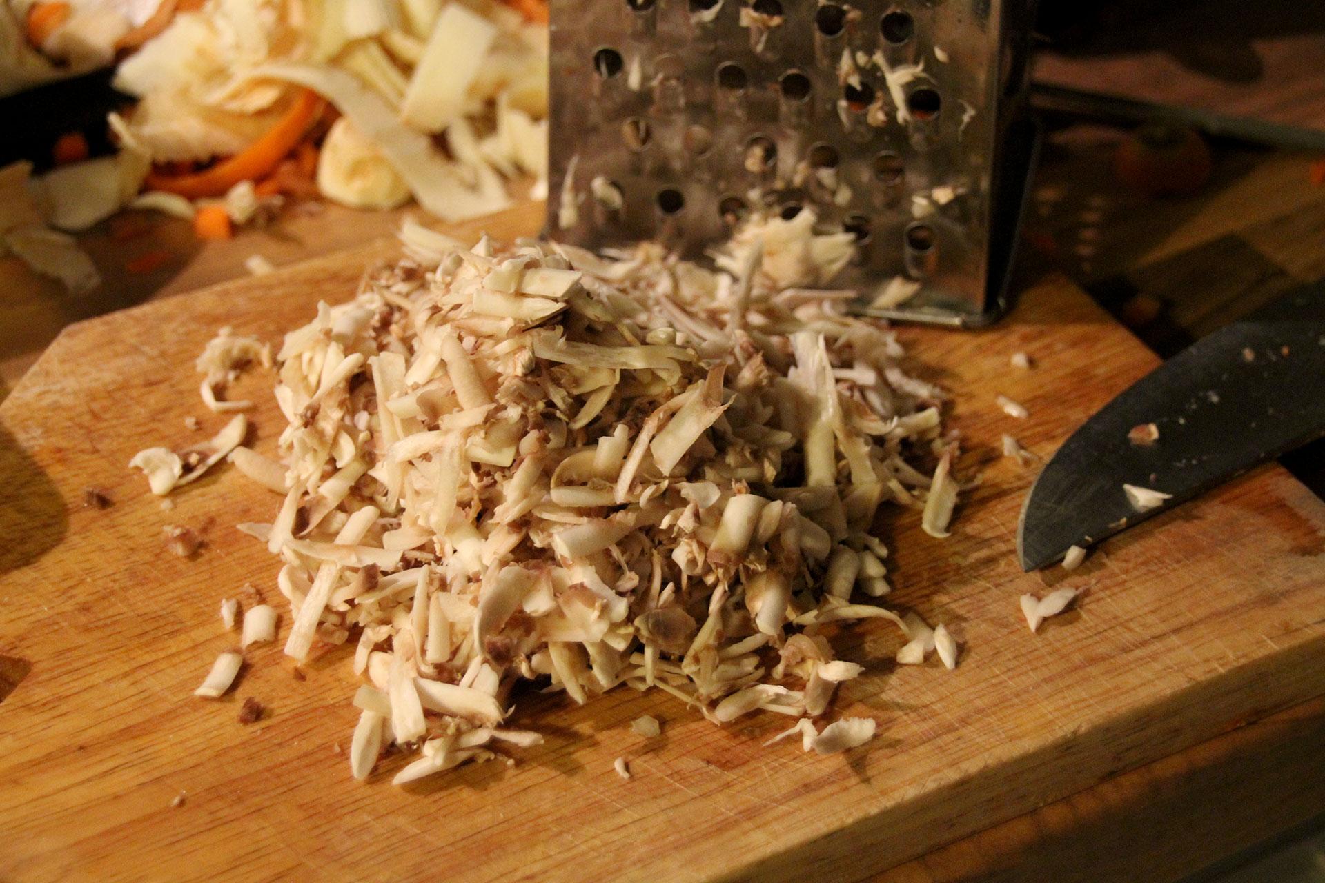 Shredded Mushrooms