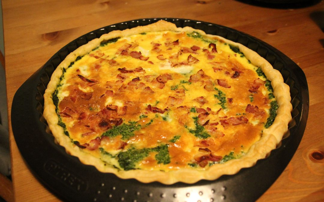 Val's Spinach Quiche