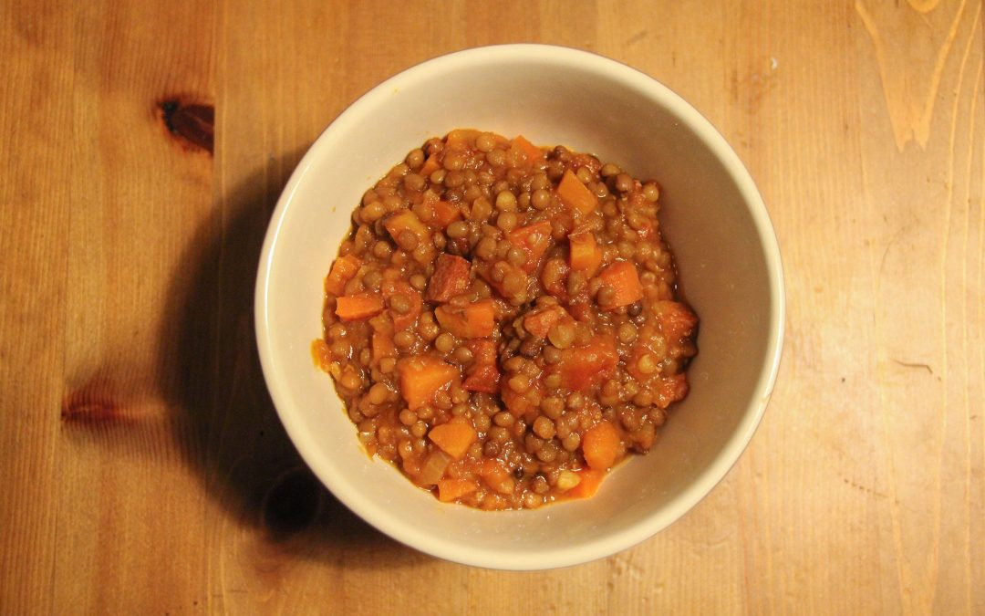 Jimmy's Lentil and Chorizo Stew
