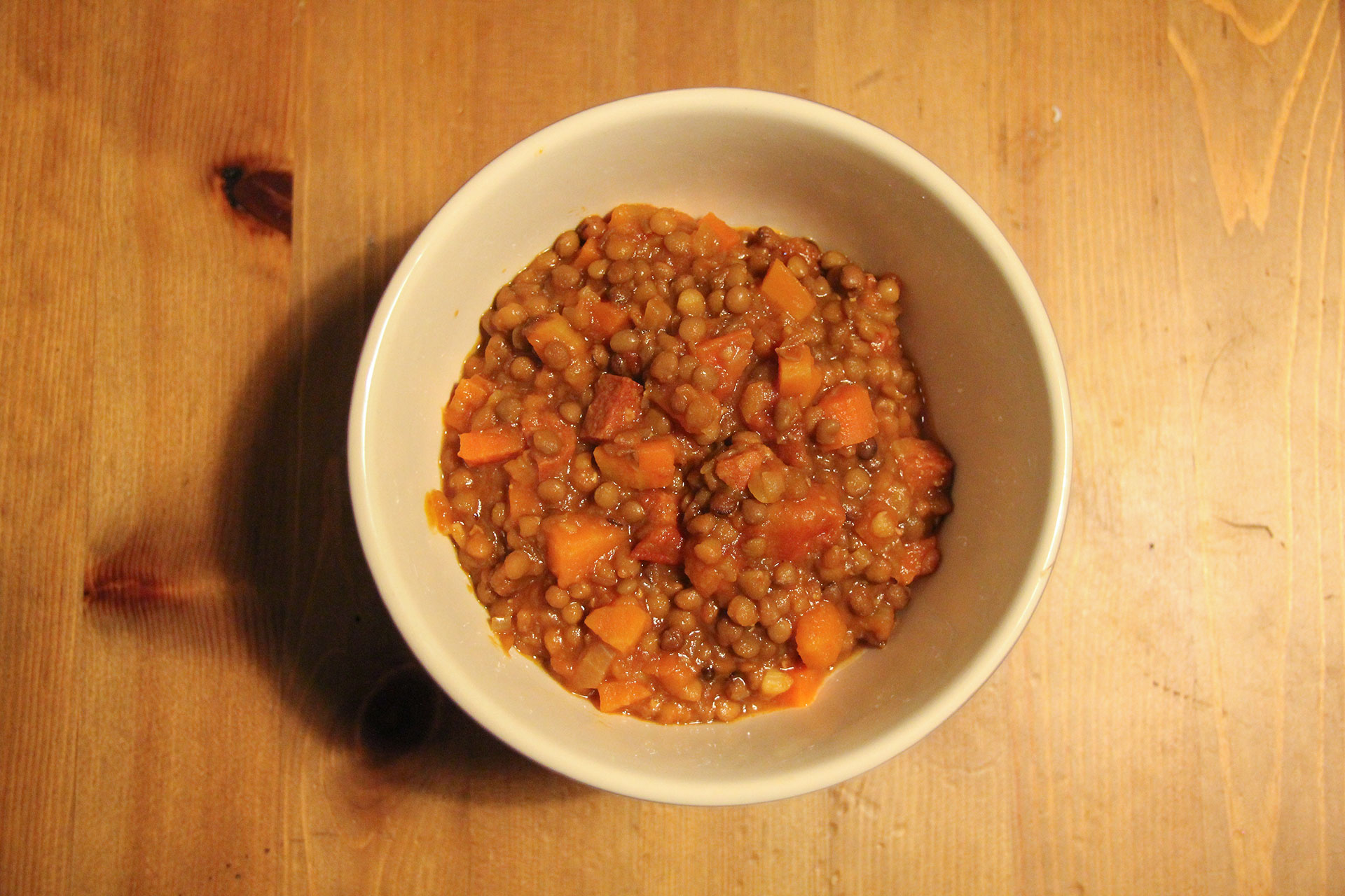Jimmys Lentil And Chorizo Stew / Lentil Stew